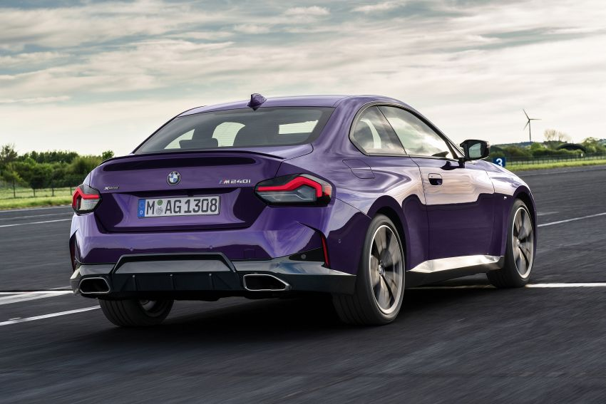 G42 BMW 2 Series Coupé debuts – 2.0 litre petrol and diesel engines; 3.0L M240i xDrive with 374 hp/500 Nm Image #1316378
