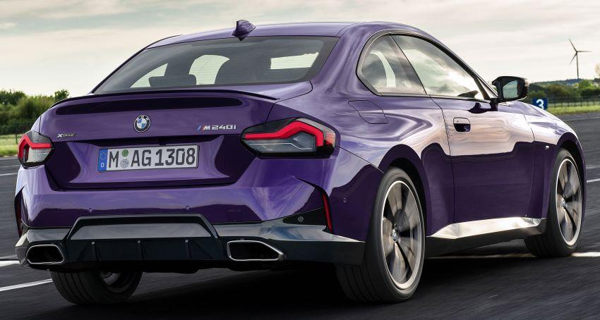 BMW 2 Series Coupe G42 diperkenal – tiga pilihan enjin, M240i xDrive mampu hasilkan 374 hp, 500 Nm Image #1316966