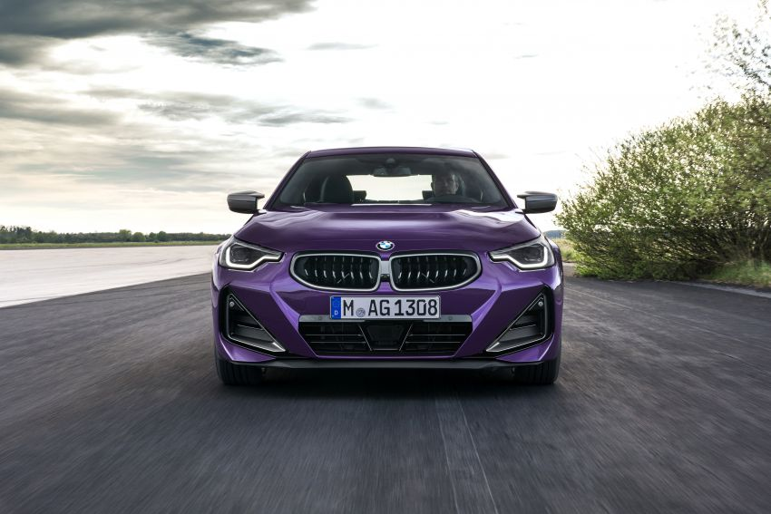 G42 BMW 2 Series Coupé debuts – 2.0 litre petrol and diesel engines; 3.0L M240i xDrive with 374 hp/500 Nm Image #1316379