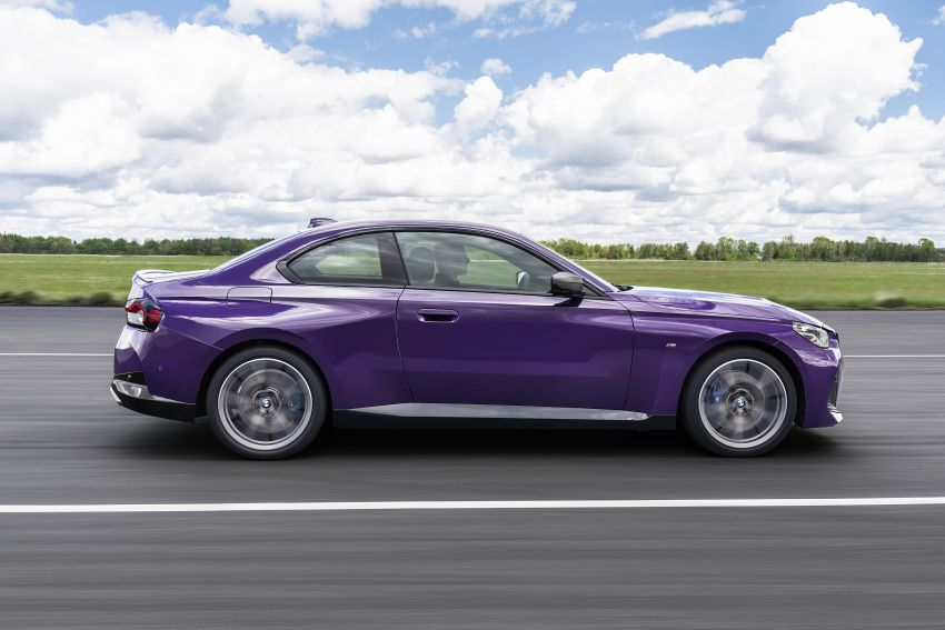 G42 BMW 2 Series Coupé debuts – 2.0 litre petrol and diesel engines; 3.0L M240i xDrive with 374 hp/500 Nm Image #1316380