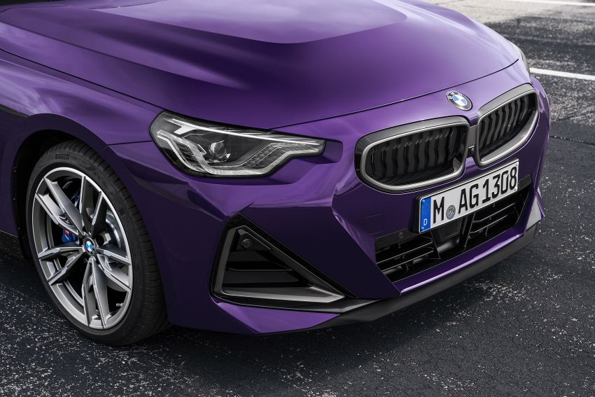 G42 BMW 2 Series Coupé debuts – 2.0 litre petrol and diesel engines; 3.0L M240i xDrive with 374 hp/500 Nm Image #1316382
