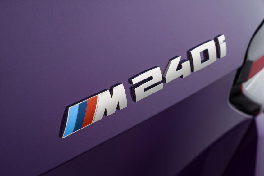 BMW 2 Series Coupe G42 diperkenal – tiga pilihan enjin, M240i xDrive mampu hasilkan 374 hp, 500 Nm Image #1316972