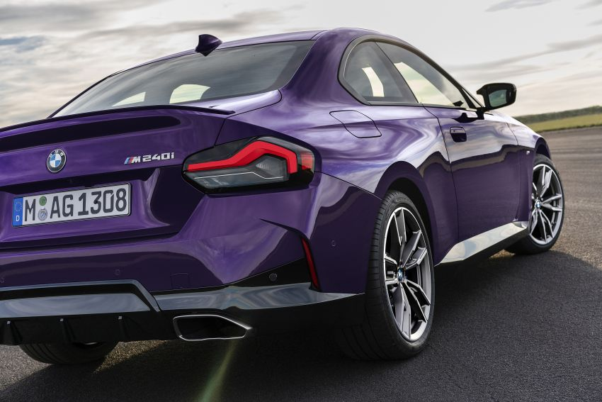 G42 BMW 2 Series Coupé debuts – 2.0 litre petrol and diesel engines; 3.0L M240i xDrive with 374 hp/500 Nm Image #1316385