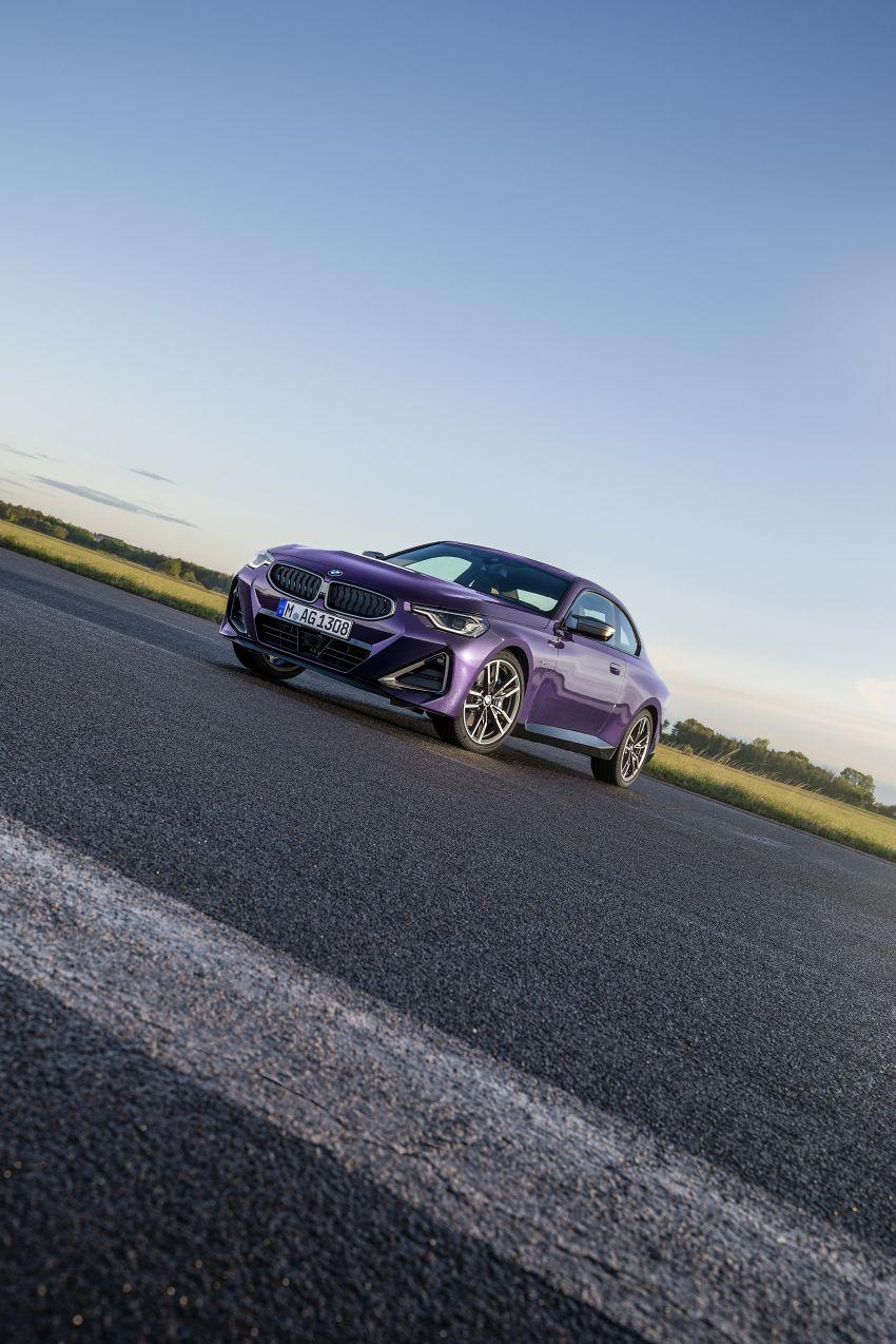 BMW 2 Series Coupe G42 diperkenal – tiga pilihan enjin, M240i xDrive mampu hasilkan 374 hp, 500 Nm Image #1316975