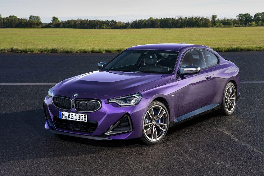 BMW 2 Series Coupe G42 diperkenal – tiga pilihan enjin, M240i xDrive mampu hasilkan 374 hp, 500 Nm Image #1316976