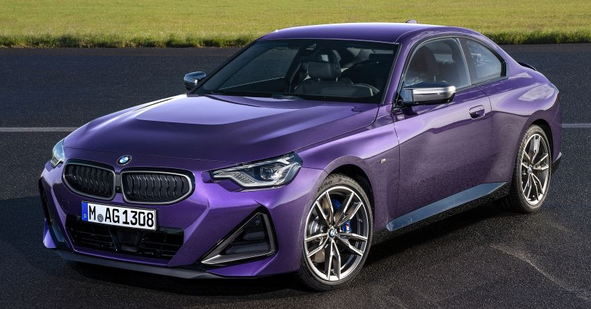 G42 BMW 2 Series Coupé debuts – 2.0 litre petrol and diesel engines; 3.0L M240i xDrive with 374 hp/500 Nm Image #1316387