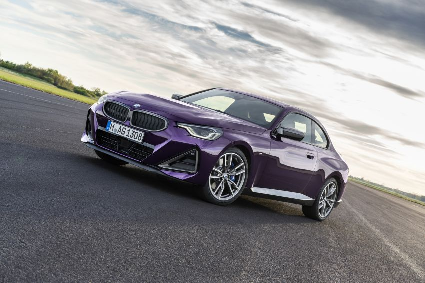 G42 BMW 2 Series Coupé debuts – 2.0 litre petrol and diesel engines; 3.0L M240i xDrive with 374 hp/500 Nm Image #1316388