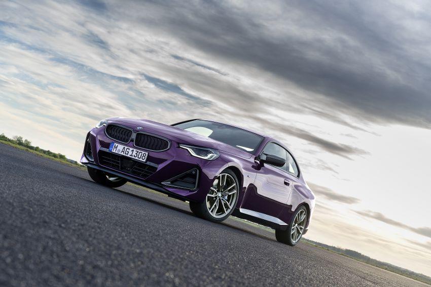 BMW 2 Series Coupe G42 diperkenal – tiga pilihan enjin, M240i xDrive mampu hasilkan 374 hp, 500 Nm Image #1316978
