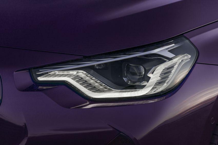 BMW 2 Series Coupe G42 diperkenal – tiga pilihan enjin, M240i xDrive mampu hasilkan 374 hp, 500 Nm Image #1316979