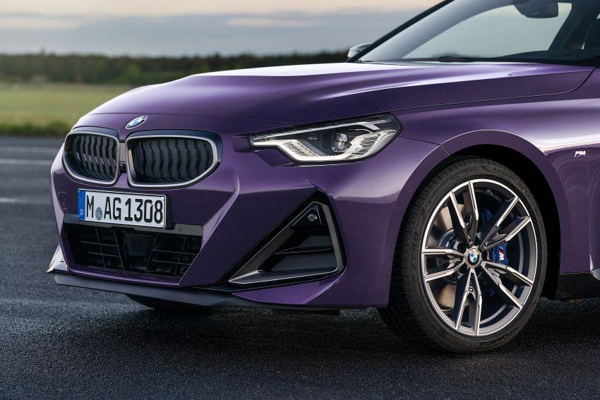 BMW 2 Series Coupe G42 diperkenal – tiga pilihan enjin, M240i xDrive mampu hasilkan 374 hp, 500 Nm Image #1316980