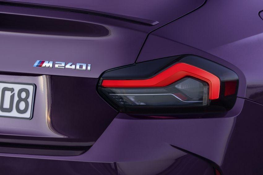 BMW 2 Series Coupe G42 diperkenal – tiga pilihan enjin, M240i xDrive mampu hasilkan 374 hp, 500 Nm Image #1316985