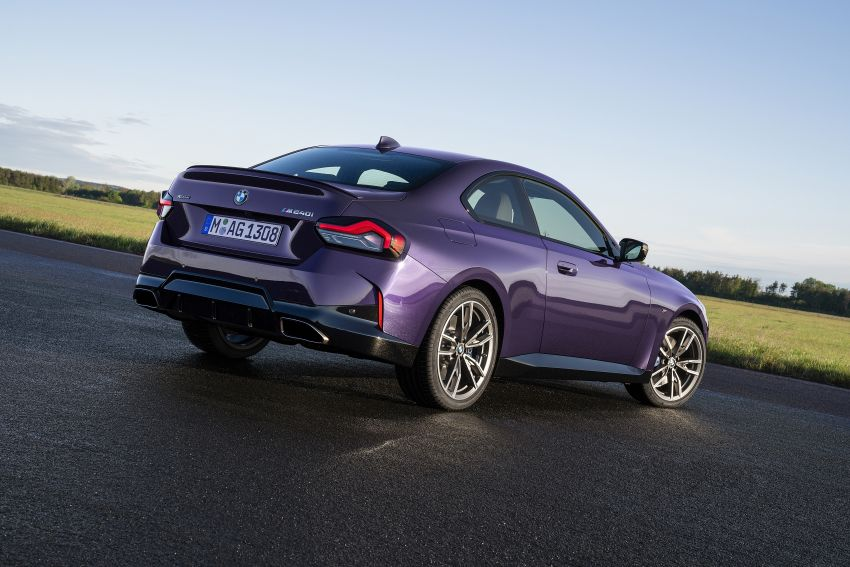 G42 BMW 2 Series Coupé debuts – 2.0 litre petrol and diesel engines; 3.0L M240i xDrive with 374 hp/500 Nm Image #1316396