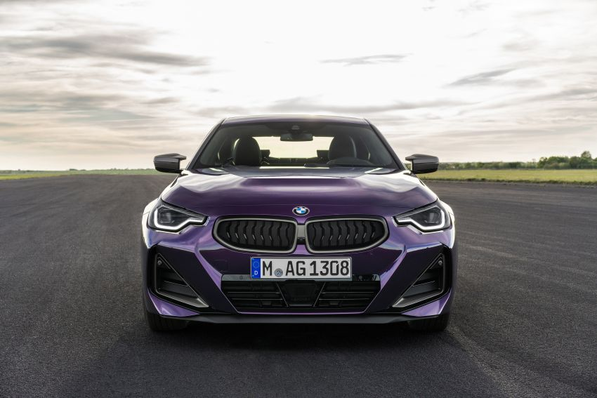 G42 BMW 2 Series Coupé debuts – 2.0 litre petrol and diesel engines; 3.0L M240i xDrive with 374 hp/500 Nm Image #1316397