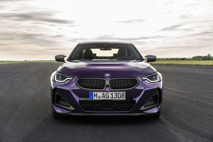 BMW 2 Series Coupe G42 diperkenal – tiga pilihan enjin, M240i xDrive mampu hasilkan 374 hp, 500 Nm Image #1316987