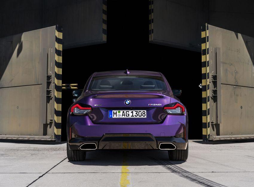 BMW 2 Series Coupe G42 diperkenal – tiga pilihan enjin, M240i xDrive mampu hasilkan 374 hp, 500 Nm Image #1316988