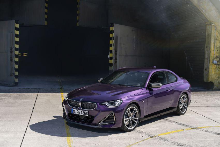 BMW 2 Series Coupe G42 diperkenal – tiga pilihan enjin, M240i xDrive mampu hasilkan 374 hp, 500 Nm Image #1316989