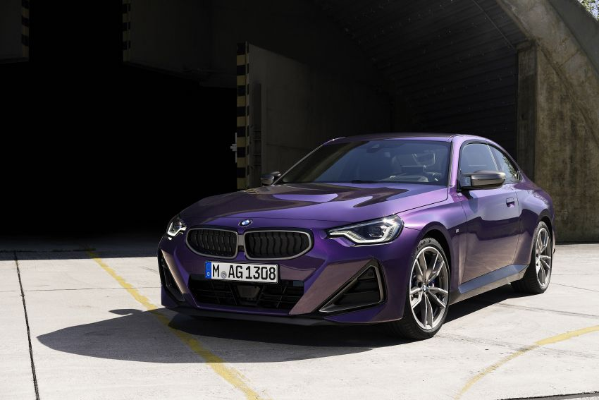 G42 BMW 2 Series Coupé debuts – 2.0 litre petrol and diesel engines; 3.0L M240i xDrive with 374 hp/500 Nm Image #1316400