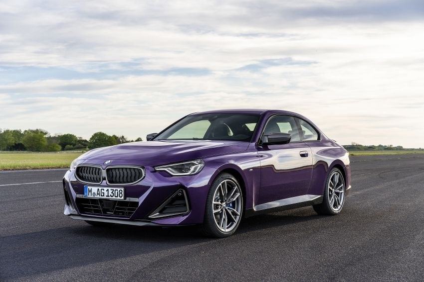 G42 BMW 2 Series Coupé debuts – 2.0 litre petrol and diesel engines; 3.0L M240i xDrive with 374 hp/500 Nm Image #1316401