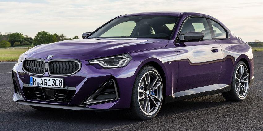 BMW 2 Series Coupe G42 diperkenal – tiga pilihan enjin, M240i xDrive mampu hasilkan 374 hp, 500 Nm Image #1316991