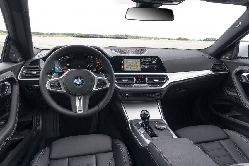 G42 BMW 2 Series Coupé debuts – 2.0 litre petrol and diesel engines; 3.0L M240i xDrive with 374 hp/500 Nm Image #1316402