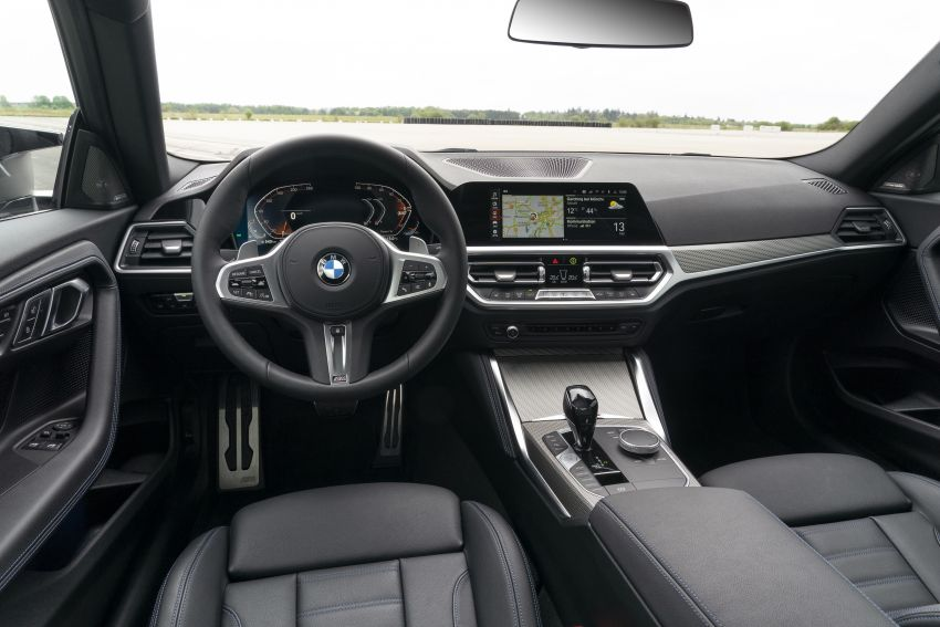 G42 BMW 2 Series Coupé debuts – 2.0 litre petrol and diesel engines; 3.0L M240i xDrive with 374 hp/500 Nm Image #1316404