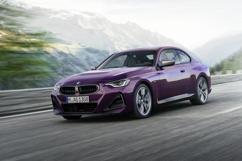 G42 BMW 2 Series Coupé debuts – 2.0 litre petrol and diesel engines; 3.0L M240i xDrive with 374 hp/500 Nm Image #1316411