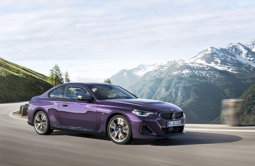 G42 BMW 2 Series Coupé debuts – 2.0 litre petrol and diesel engines; 3.0L M240i xDrive with 374 hp/500 Nm Image #1316412