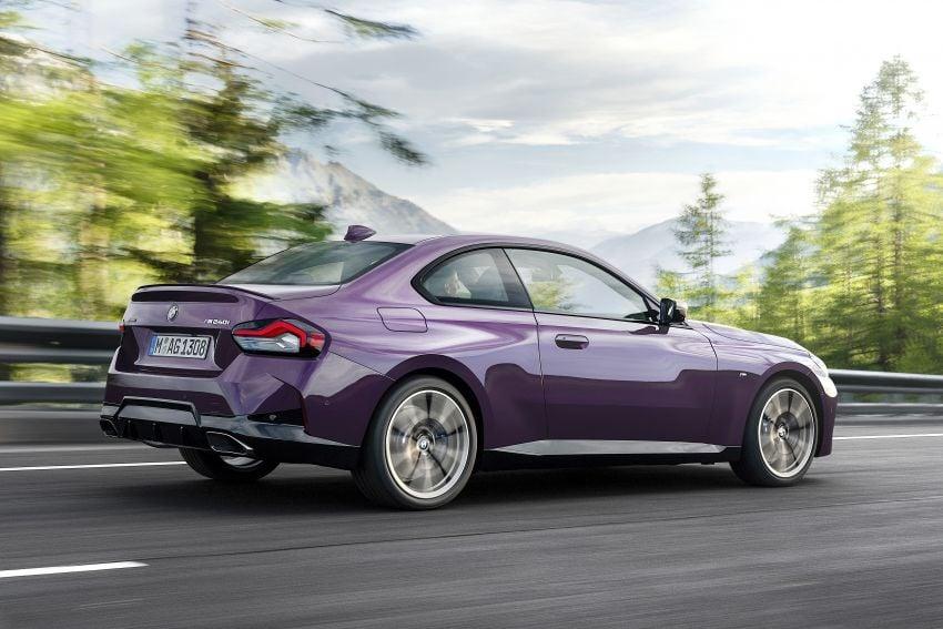 BMW 2 Series Coupe G42 diperkenal – tiga pilihan enjin, M240i xDrive mampu hasilkan 374 hp, 500 Nm Image #1317004