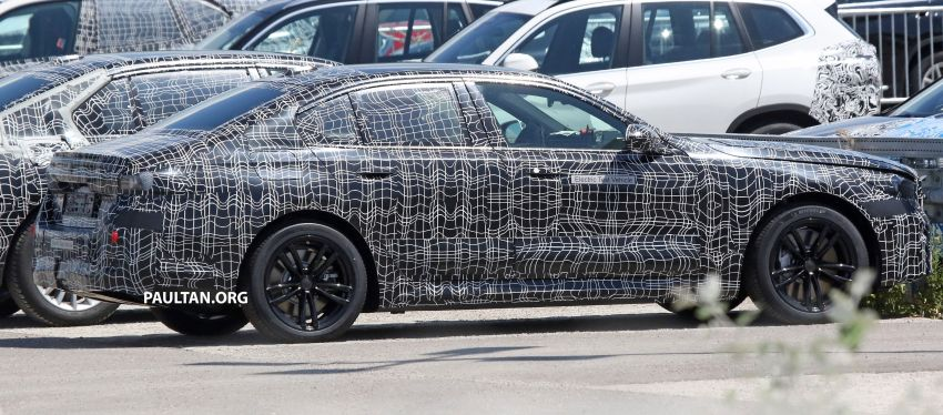 SPYSHOTS: 2024 G60 BMW 5 Series hybrid, EV seen Image #1315959