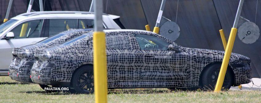 SPYSHOTS: 2024 G60 BMW 5 Series hybrid, EV seen Image #1315968