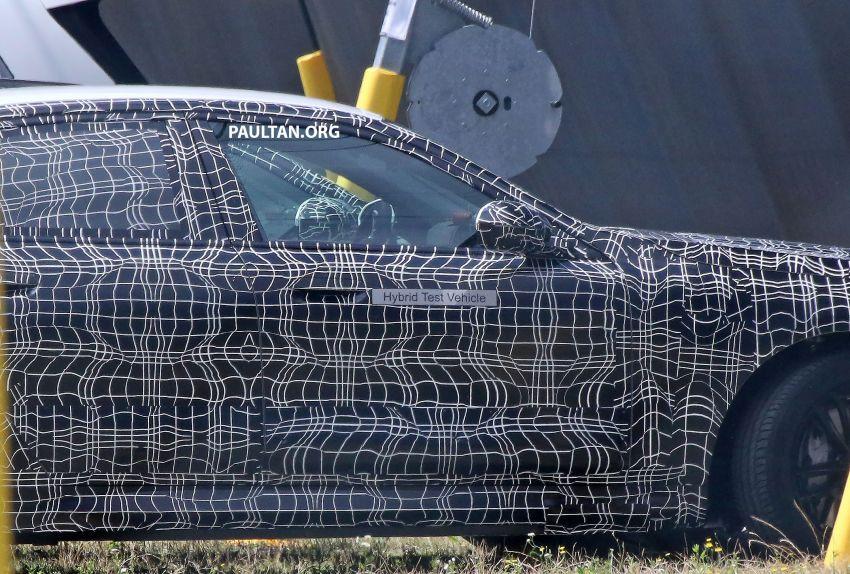 SPYSHOTS: 2024 G60 BMW 5 Series hybrid, EV seen Image #1315969