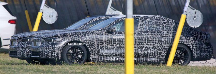 SPYSHOTS: 2024 G60 BMW 5 Series hybrid, EV seen Image #1315970