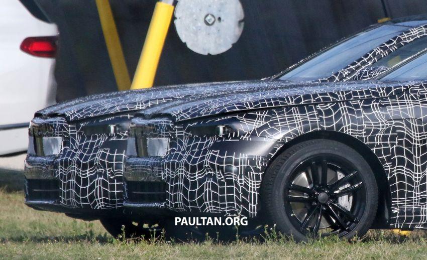 SPYSHOTS: 2024 G60 BMW 5 Series hybrid, EV seen Image #1315971
