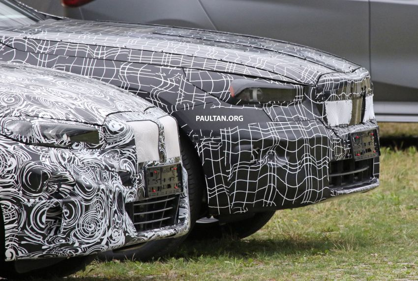 SPYSHOTS: 2024 G60 BMW 5 Series hybrid, EV seen Image #1315987