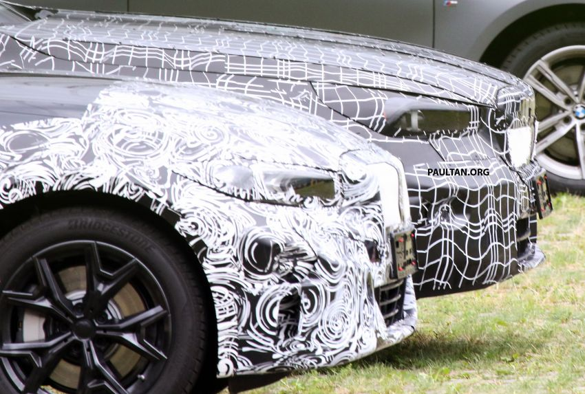 SPYSHOTS: 2024 G60 BMW 5 Series hybrid, EV seen Image #1315989