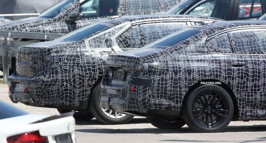 SPYSHOTS: 2024 G60 BMW 5 Series hybrid, EV seen Image #1315964