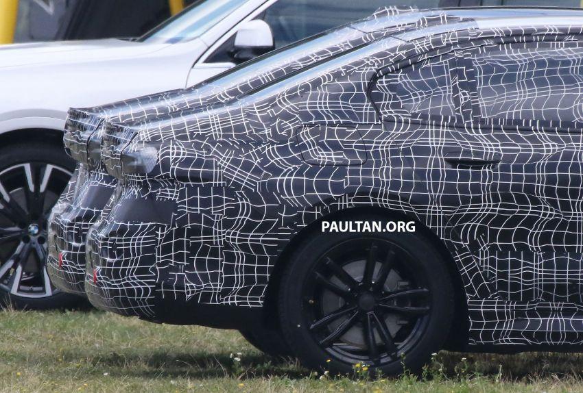 SPYSHOTS: 2024 G60 BMW 5 Series hybrid, EV seen Image #1315967