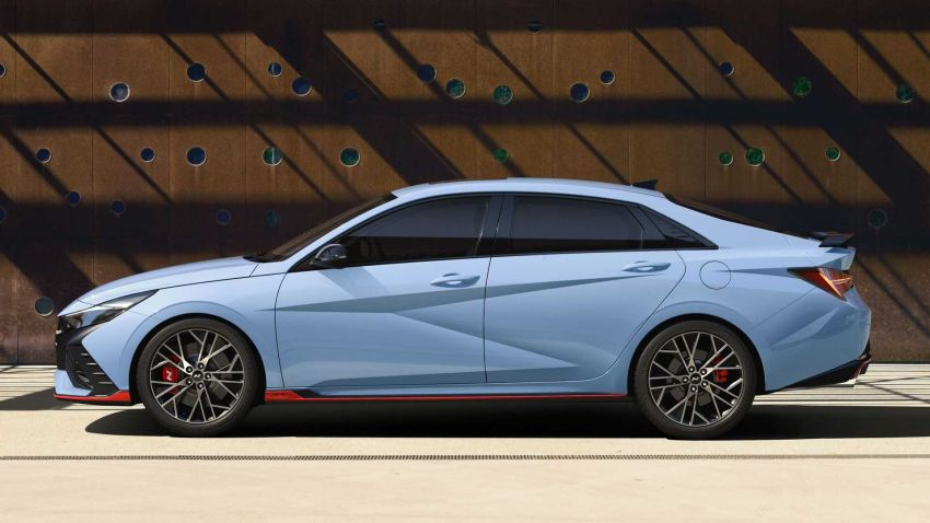 Hyundai Elantra N didedahkan – sedan prestasi dengan enjin 2.0L Turbo, berkuasa 280 PS/392 Nm! Image #1319286