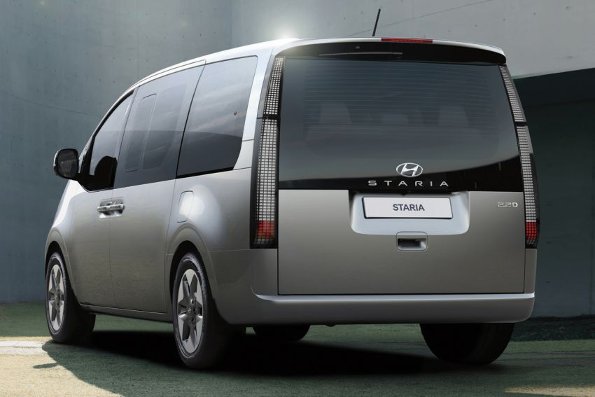 Hyundai Staria launched in Thailand – 11-seater with 2.2L diesel, AEB, ACC, lane centring, from RM222k Image #1317863