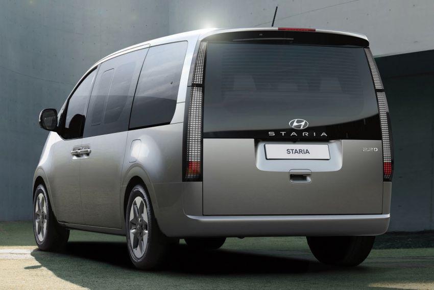 Hyundai Staria masuk pasaran Thailand – 11 tempat duduk, enjin diesel 2.2 liter, harga dari RM222k Image #1317936