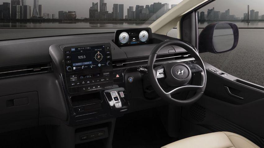 Hyundai Staria masuk pasaran Thailand – 11 tempat duduk, enjin diesel 2.2 liter, harga dari RM222k Image #1317935