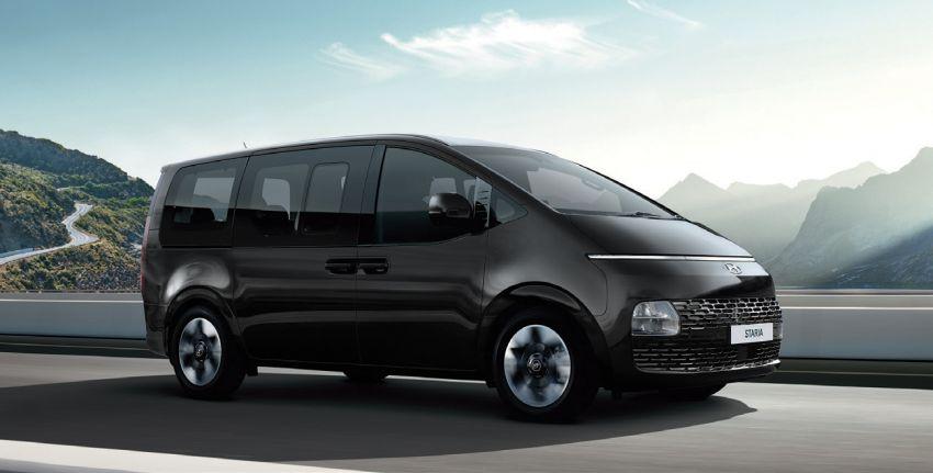 Hyundai Staria masuk pasaran Thailand – 11 tempat duduk, enjin diesel 2.2 liter, harga dari RM222k Image #1317934