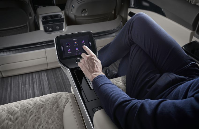 Kia Carnival Hi Limousine gets Lexus LM-rivalling 4-seater option with foot massager – RM317k in Korea Image #1318919