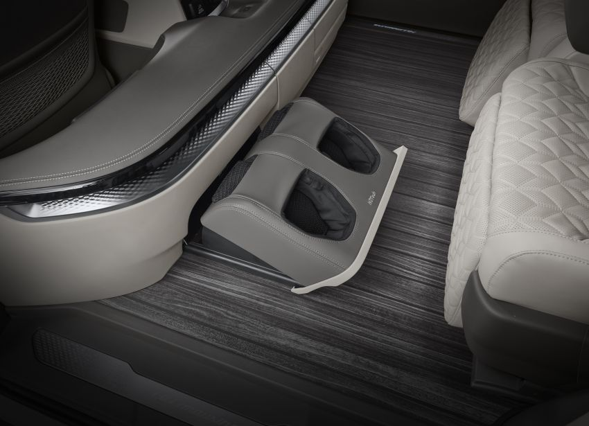 Kia Carnival Hi Limousine gets Lexus LM-rivalling 4-seater option with foot massager – RM317k in Korea Image #1318920