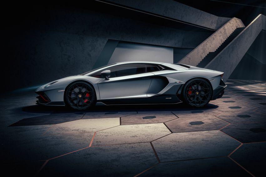 Lamborghini Aventador LP 780-4 Ultimae debuts – 350 coupes, 250 roadsters; 780 PS V12; 0-100 km/h in 2.8s Image #1316806