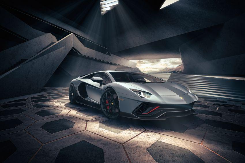 Lamborghini Aventador LP 780-4 Ultimae debuts – 350 coupes, 250 roadsters; 780 PS V12; 0-100 km/h in 2.8s Image #1316809