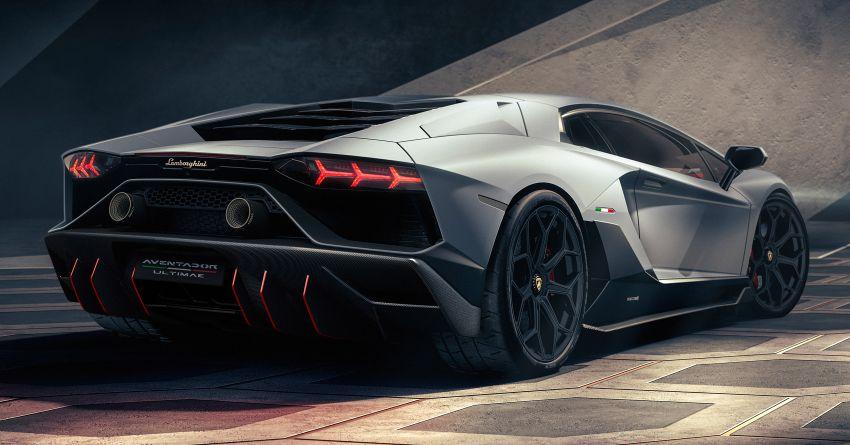 Lamborghini Aventador LP 780-4 Ultimae debuts – 350 coupes, 250 roadsters; 780 PS V12; 0-100 km/h in 2.8s Image #1316812
