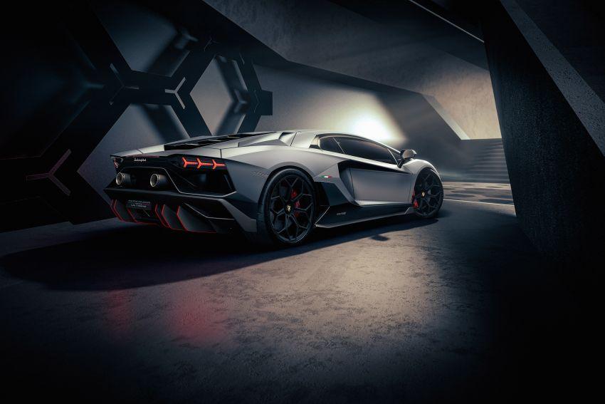 Lamborghini Aventador LP 780-4 Ultimae debuts – 350 coupes, 250 roadsters; 780 PS V12; 0-100 km/h in 2.8s Image #1316813