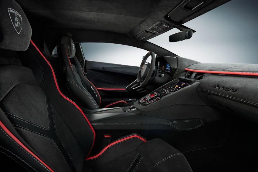 Lamborghini Aventador LP 780-4 Ultimae debuts – 350 coupes, 250 roadsters; 780 PS V12; 0-100 km/h in 2.8s Image #1316816