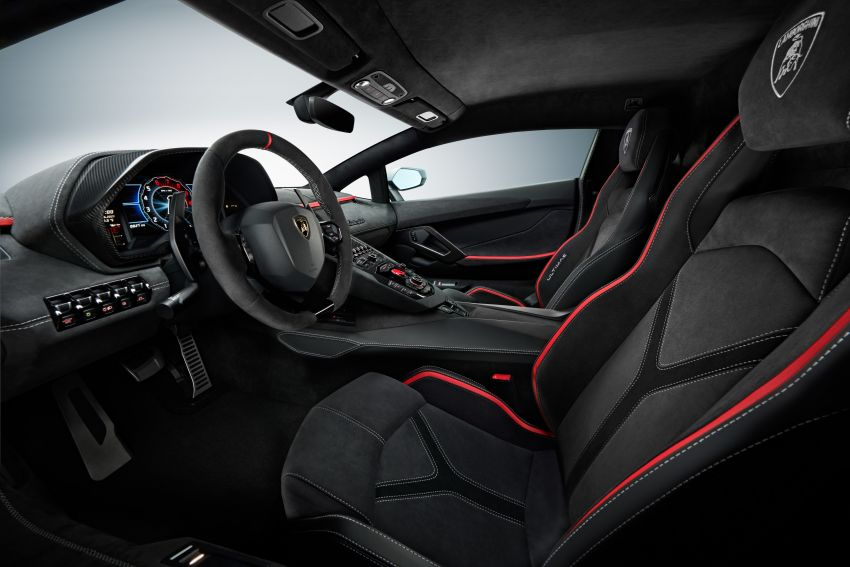 Lamborghini Aventador LP 780-4 Ultimae debuts – 350 coupes, 250 roadsters; 780 PS V12; 0-100 km/h in 2.8s Image #1316817